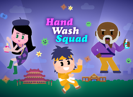 'Hand Wash Squad': a free hand washing game for children from GOJO, GAMA and CorrMed
