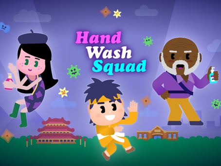 'Hand Wash Squad': a free hand washing game for children!