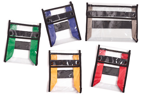 Set of 5 Medical Pouches - 5 Colours