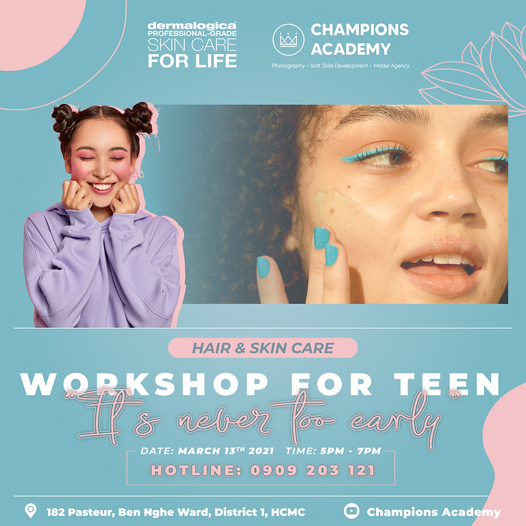 Hair & Skin Care Workshop for TEEN