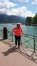 Christine Sionnière, Lac d'Annecy Haute Savoie