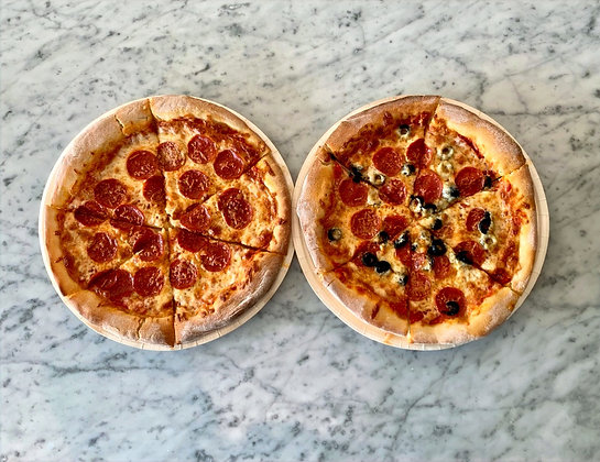 Take & Bake Pizza