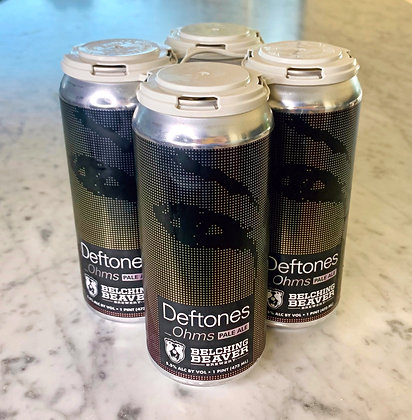 "Belching Beaver ""Deftones Ohms"" Pale Ale 16oz. 4pk."