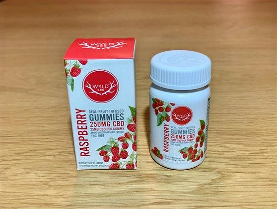 WYLD CBD Gummies - Raspberry
