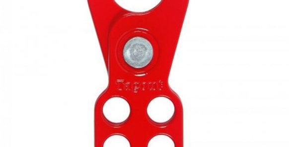 GARRA METALICA 6 FUROS BOCA 25,4mm -TAGOUT