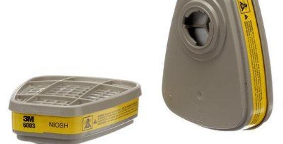 CARTUCHO P VAP ORG/GAS ACIDOS - 3M