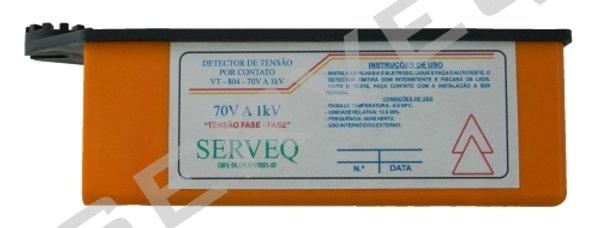 DETECTOR DE TENSÃO POR CONTATO E APROXIMAÇÃO - SERVEQ