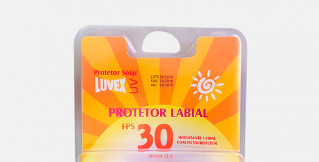 PROTETOR  LABIAL FPS 30 LUVEX STICK 5G -