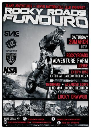 ROCKY ROADS FUNDURO 29 MARCH 2014