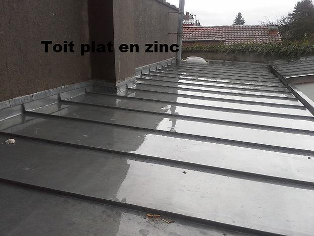 Toit Plat en Zinc Benoit Raviart