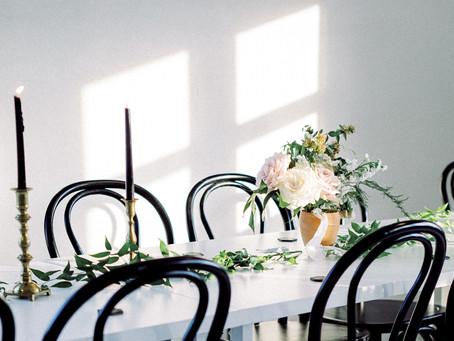 Minimalist Summer Wedding at The Emerson Venue