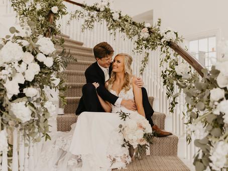 Moody Summer Wedding at the Milestone