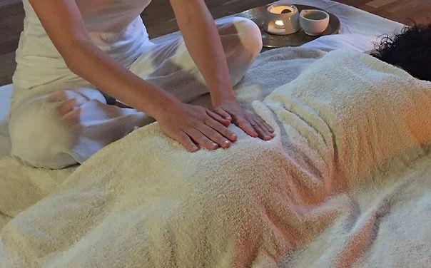 massage méditatif sattvique