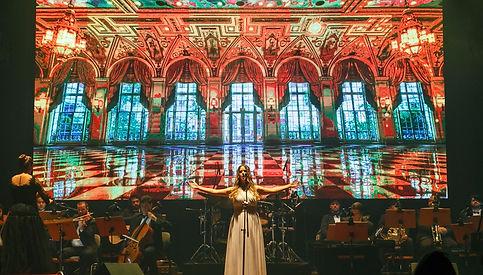Julia Balieiro soprano - Six Singers Songs for Peace Show