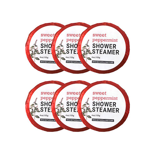 Sweet Peppermint Shower Steamer (6pk)