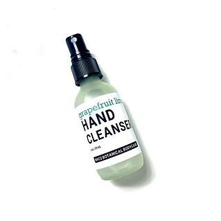 Hand Cleanser-Grapefruit Lime -NHCO-sani