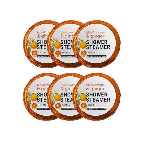Blood Orange + Ginger Shower Steamer (6pk)