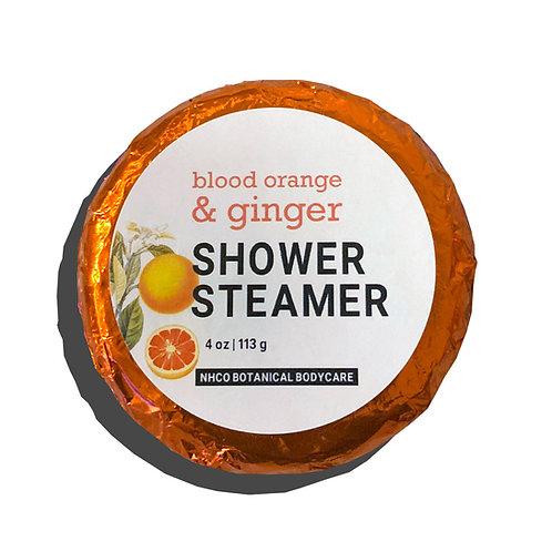 Blood Orange + Ginger Shower Steamer