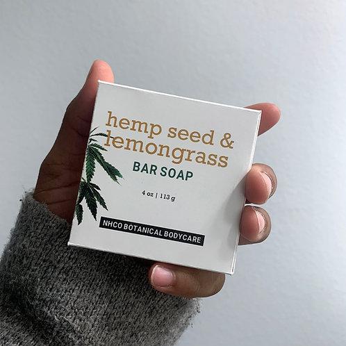 Hemp Seed & Lemongrass Bar Soap