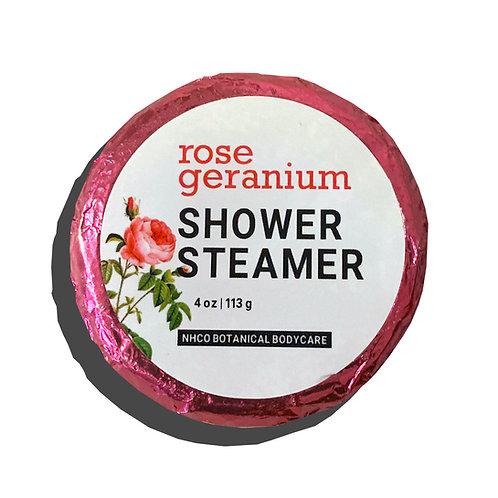 Rose Geranium Shower Steamer