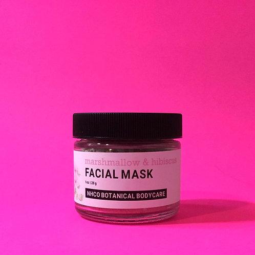 Marshmallow +Hibiscus Facial Mask
