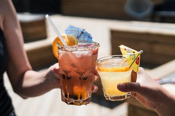 Tropical Themed Cocktails