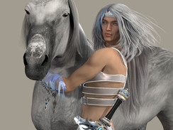 Asher M4  and pet horse C.jpg