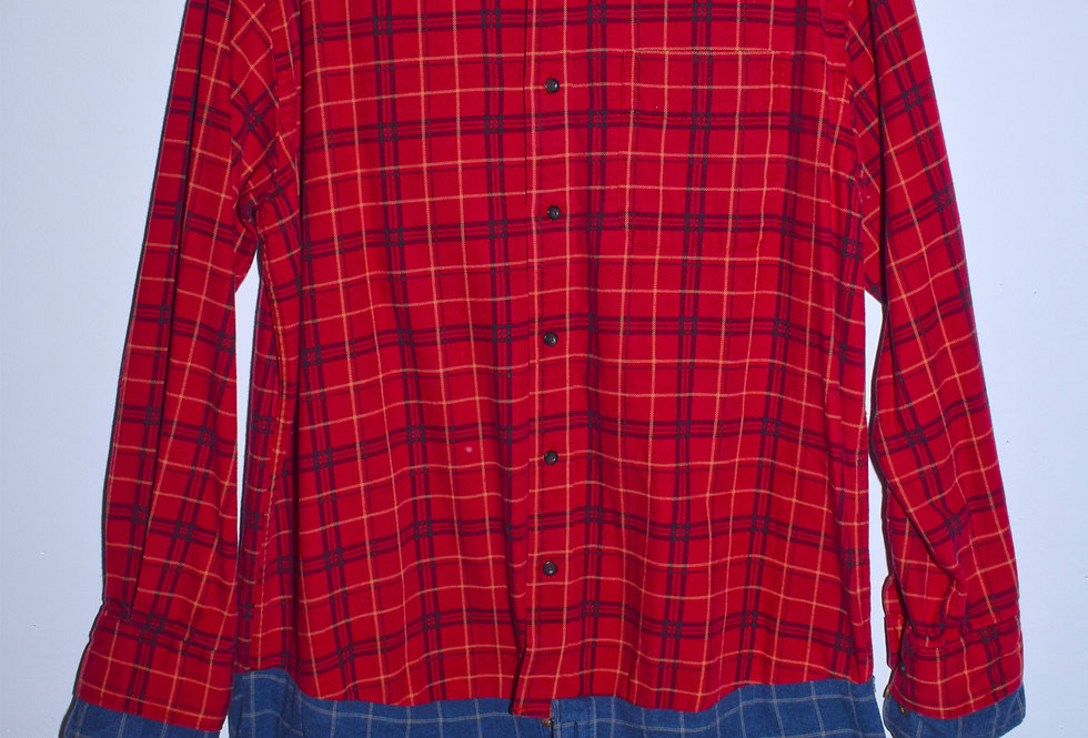 Oversized Red Flannel