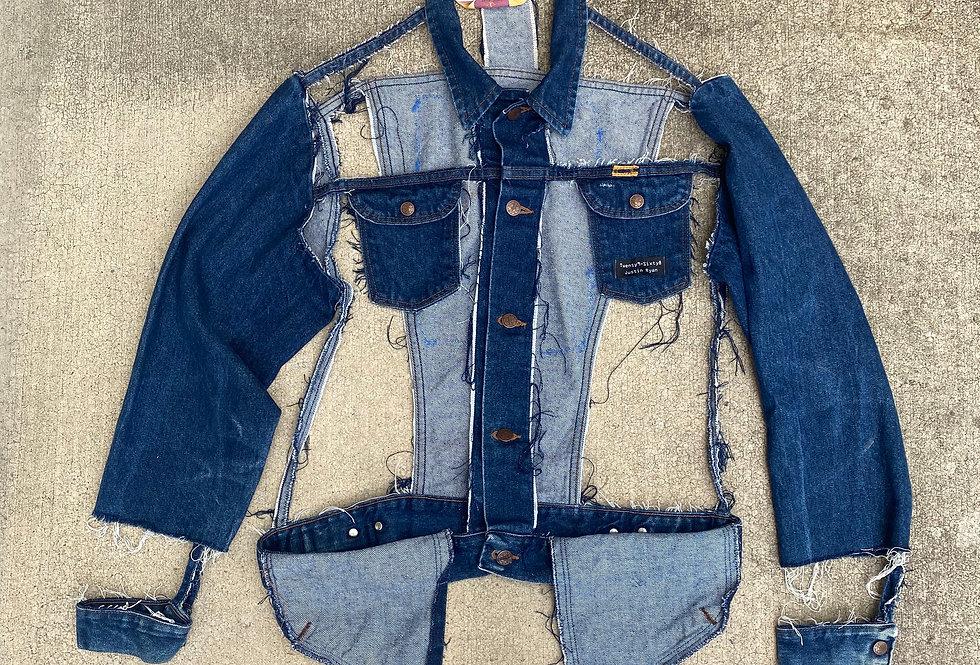 Bodyless Jean Jacket