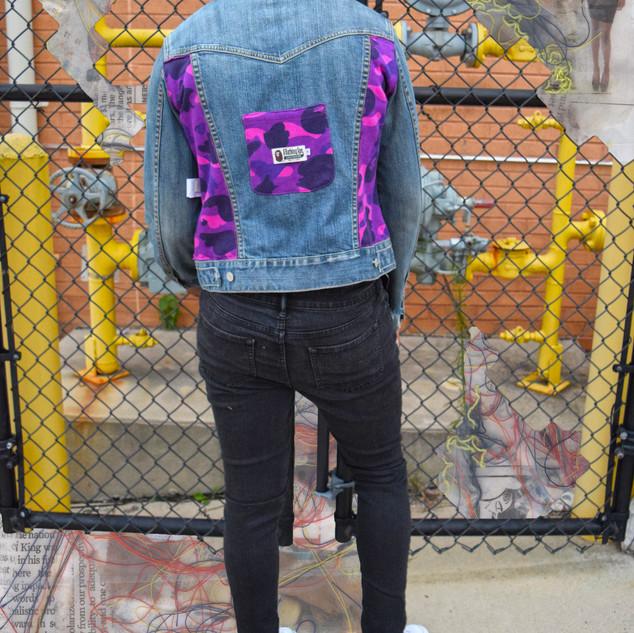 Bape x Gap Jean Jacket