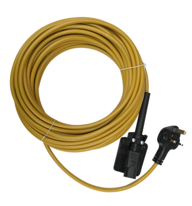 15m High Visibility Cable Assembly - D1000