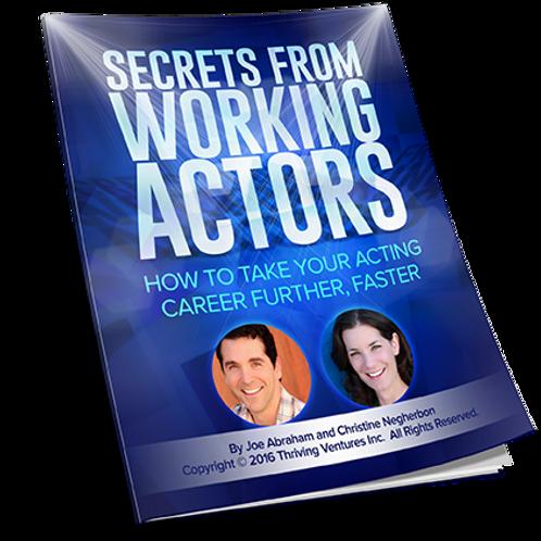 Secrets From Working Actors