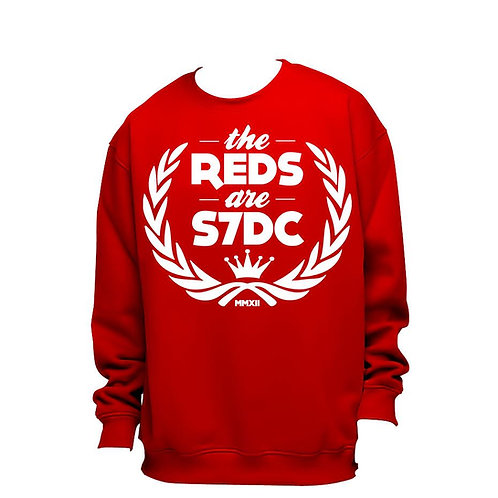 SWEAT ''THE REDS ARE S7DC'' ROUGE