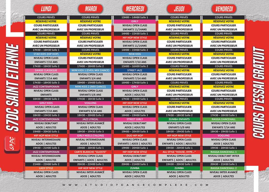 PLANNING S7DC SAINT ETIENNE 2021 NEW DES