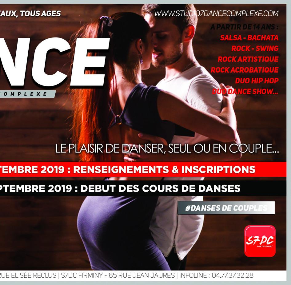 BACK TO DANCE 1 DANSES DE COUPLE - 2020.