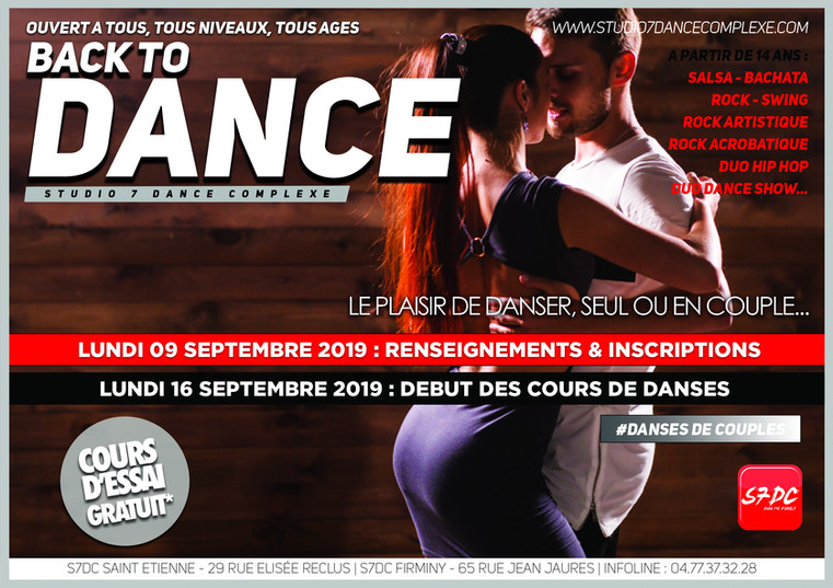 BACK TO DANCE 1 DANSES DE COUPLE - 2020.