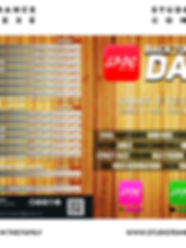 TARIFS S7DC SAINT ETIENNE & FIRMINY 2020