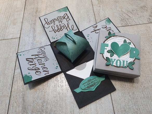 Kleine Box zum Geburtstag ...