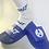 Thumbnail: Blue Balt Print Socks