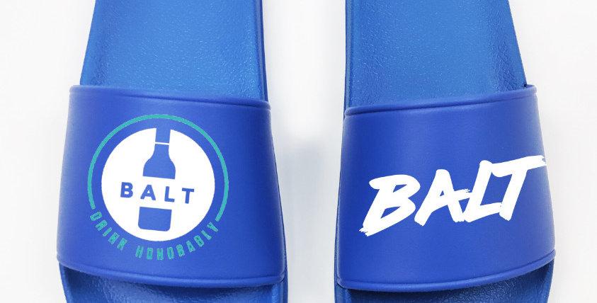 Balt Slides Blue/White