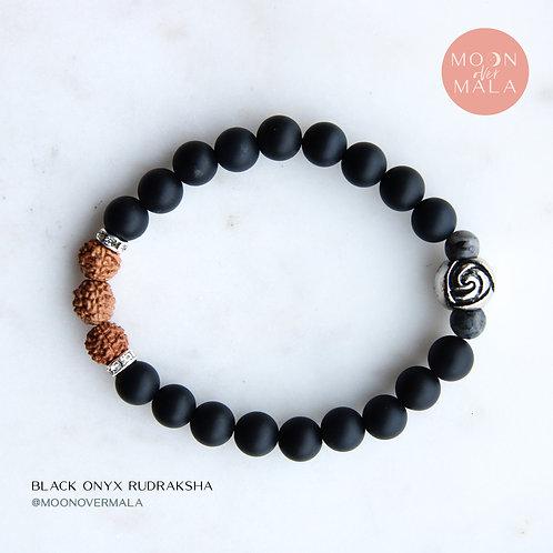 Black Onyx Rudraksha