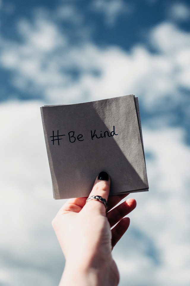 Debt collection agency with be kind paper