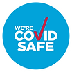 COVID Safe NSW logo with tick