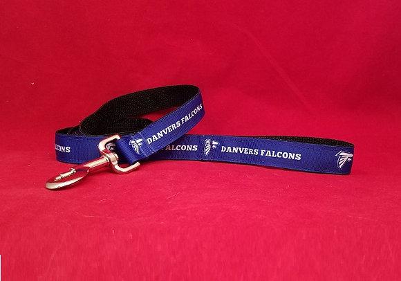 Danvers Falcons Dog Leash Blue