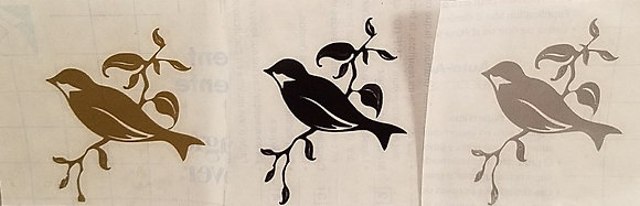 Birds on a Branch Decal