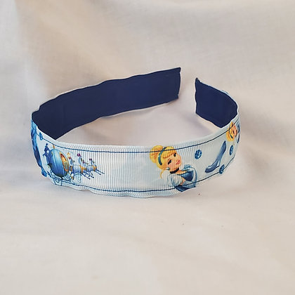 Cinderella Reversible Headband with Cover