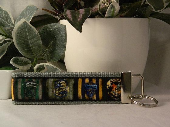 Harry Potter Hogwarts Wristlet Key Fob