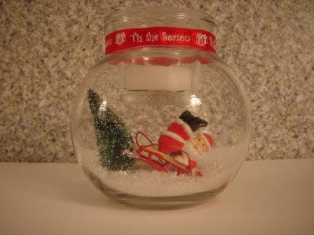 Santa Crashing his Sleigh
