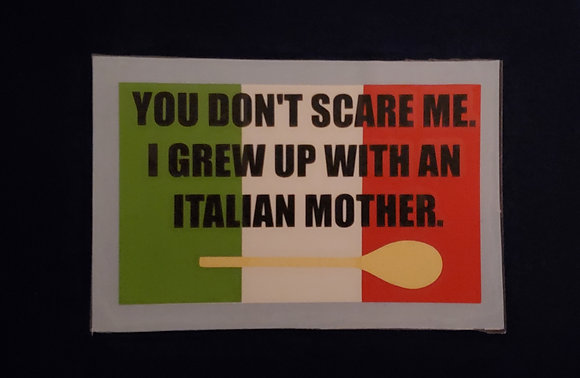 Italian Mother Decal