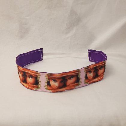 Tangled Reversible Headband with Elastic